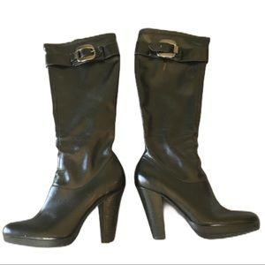 CALVIN KLEIN Mattie Boots in Black